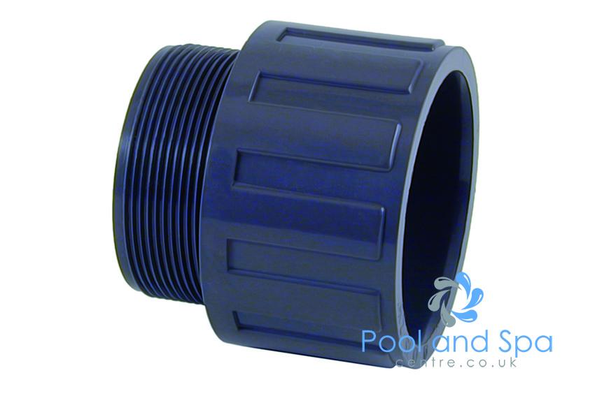 Metric Adaptor Bush Swimming Pool Pipe /& Fittings Plain to Male Thread