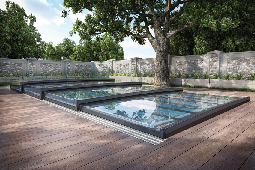 Aquacomet Horizontal Swimming Pool Enclosures Www Poolandspacentre Co Uk