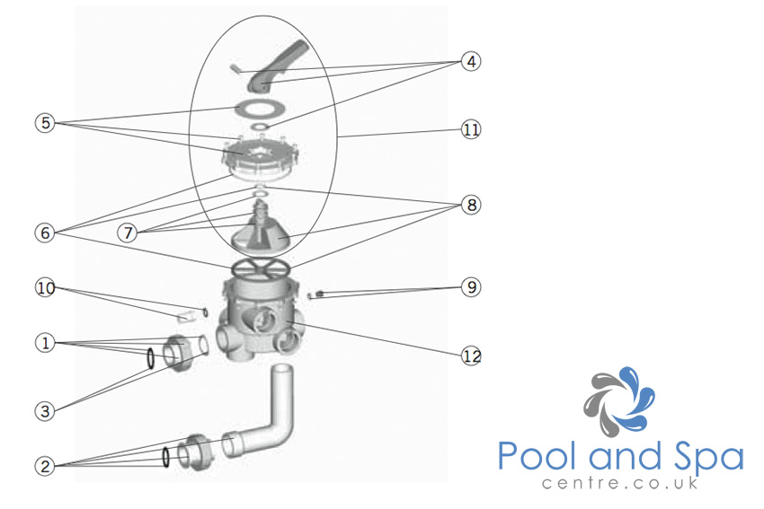 astral pool spare parts for multiport valve 2 u0026quot