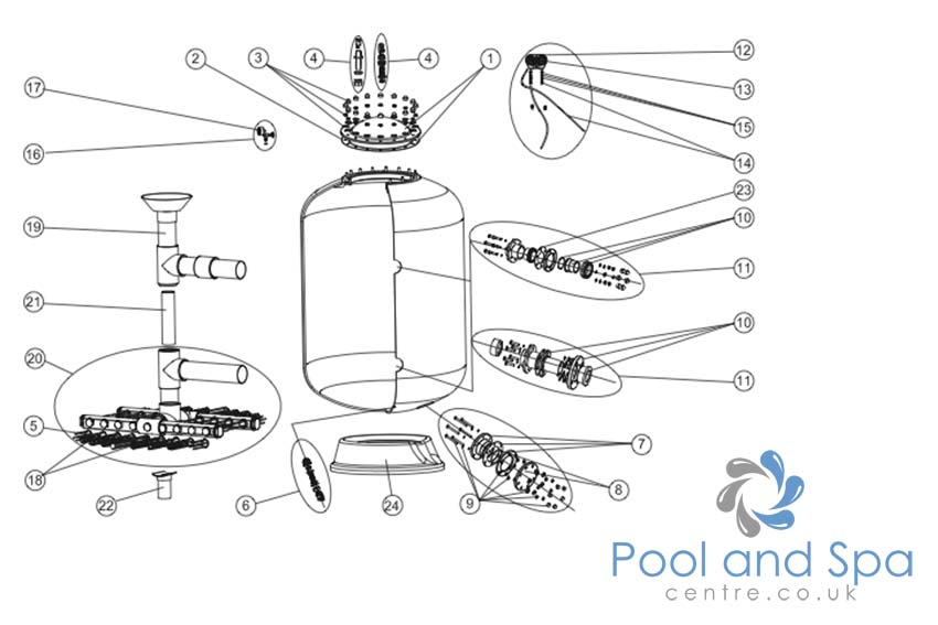 Astral Pool Spare Parts For Praga Filter Www