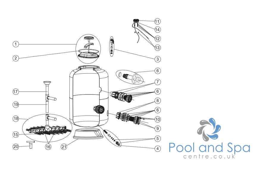 Astral Pool Spare Parts For Vic Filter Www