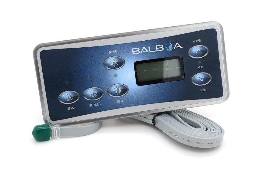 6 button 1p /& air HOT TUB SPA SF100 parts Balboa VL701S Overlay