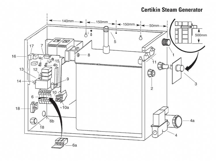 steam generators and accessories