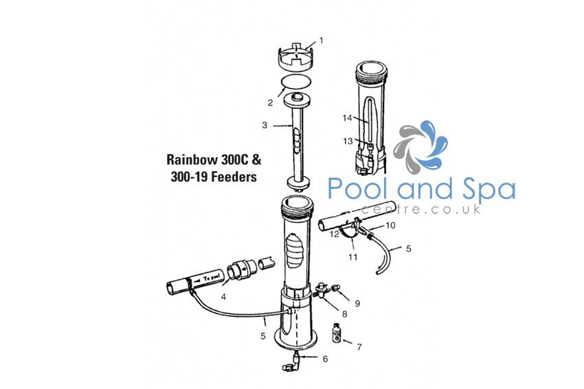 certikin spare parts for rainbow 300c 300 19 feeders