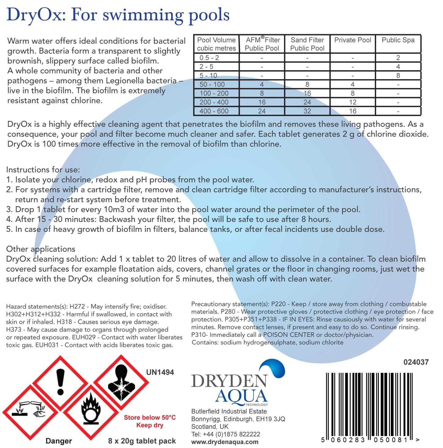 Dryox Deep Clean Biofilm Eliminator