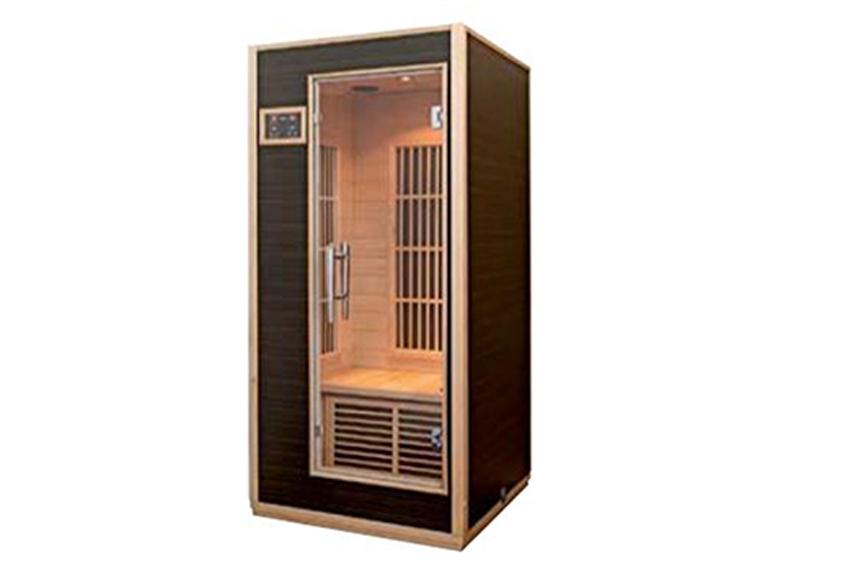 Harvia infrared saunas for Koi pool and sauna