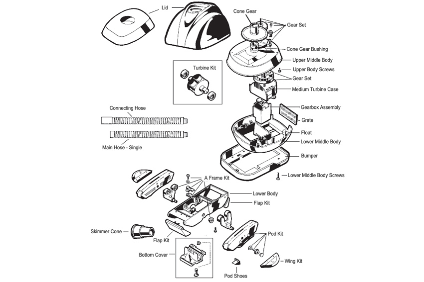 Spare parts for pool vacuums poolandspacentre hayward navigator spare parts ccuart Images