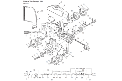 Polaris Pool Cleaner Diagram, Polaris, Free Engine Image