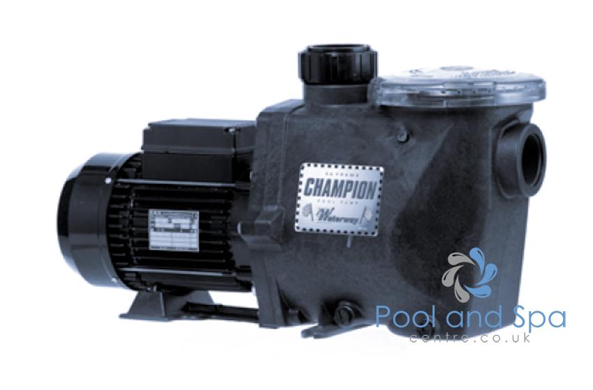 Waterway champion pool pumps for Pool pump motor hot not working