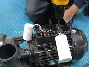 hot tub pump installation  u0026 wet end rotation www